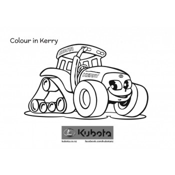 Kubota - Colouring In