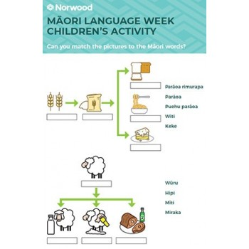- Maori Language Week Children's Activity