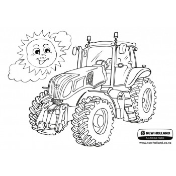 New Holland - Colouring In